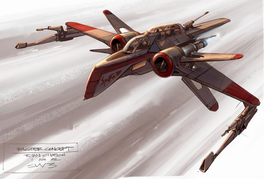 Military Forces ARC170_concept