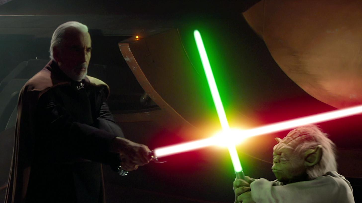 Star Wars fan club Dooku_vs_yoda