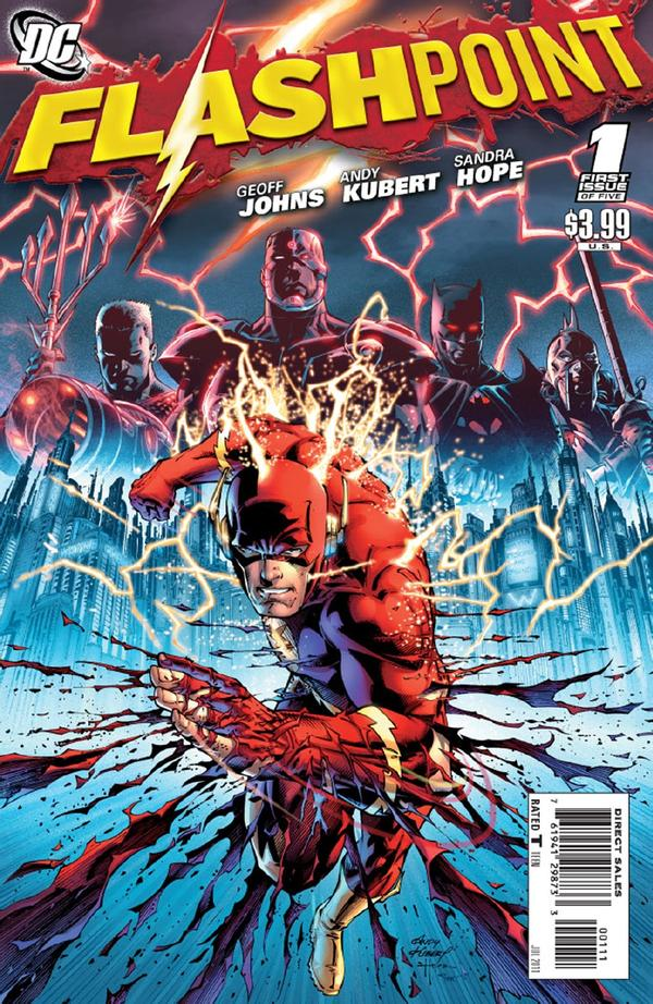 Flash point comics FlashPoint-1_Cover-1
