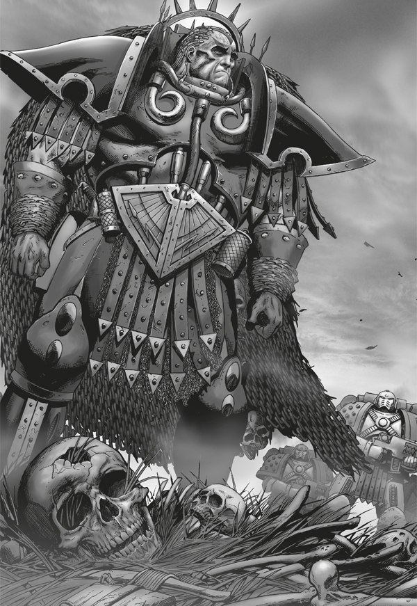 [W30K] Legiones Astartes XII : World Eaters Angron_Mourning