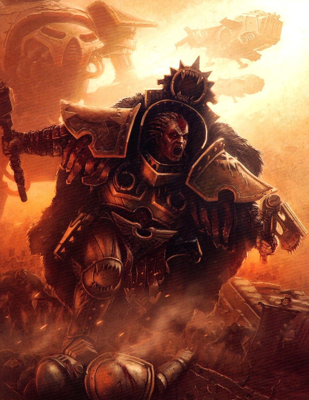 [W30K] Legiones Astartes XII : World Eaters Angron_updated