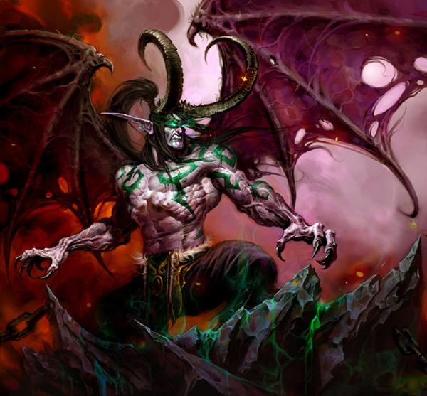 Демоны Illidan