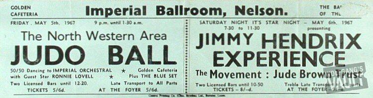 Nelson (Imperial Ballroom) : 6 mai 1967 IBN670506-HB