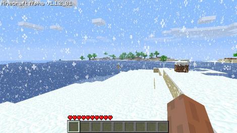 Cuanto se puede hacer en un mundo pixelado? Minecraft-nieve_gak