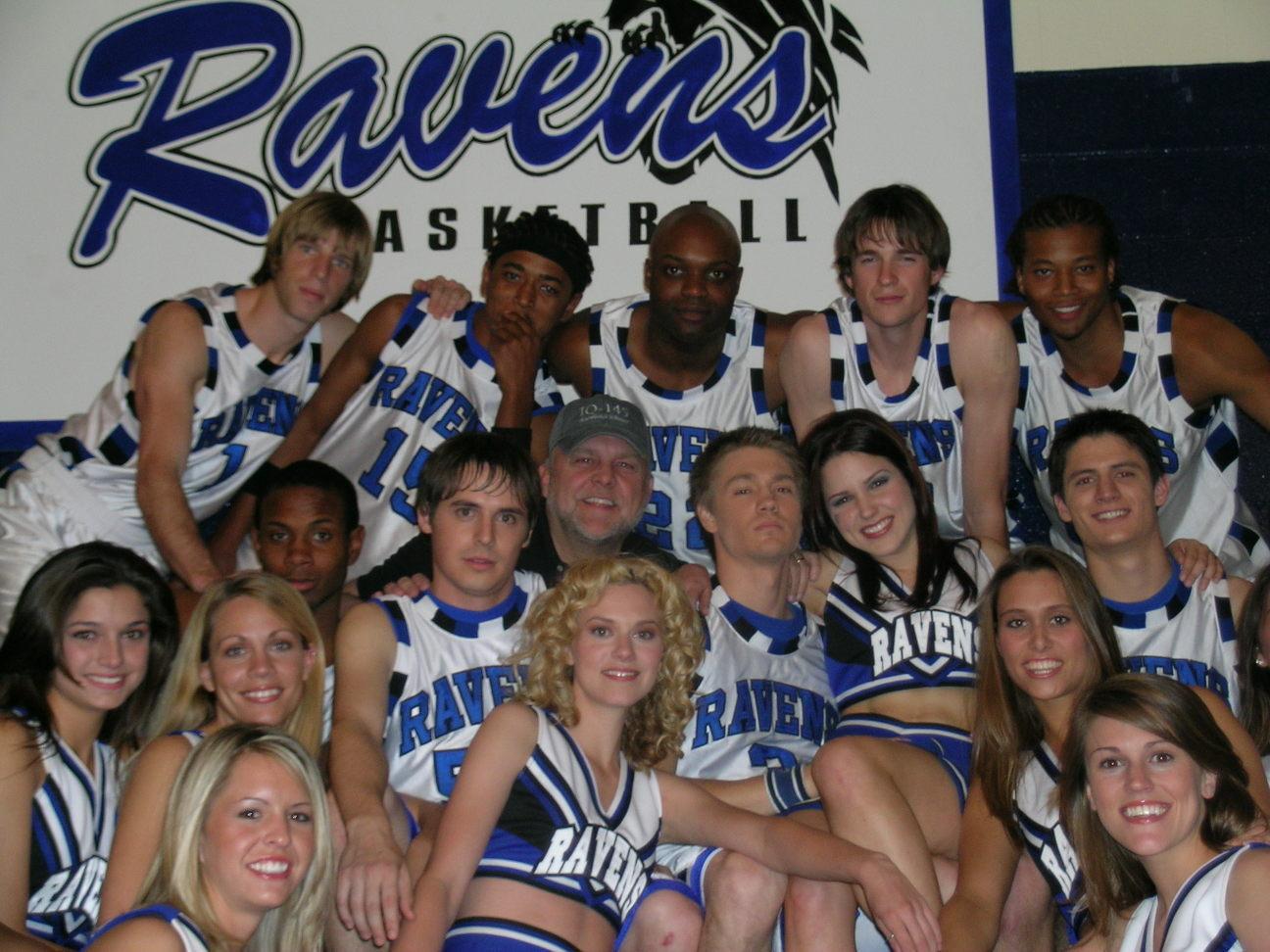OTH Cheerleaders Ravens-and-cheerleaders-tree-hill-ravens-2492734-1296-972