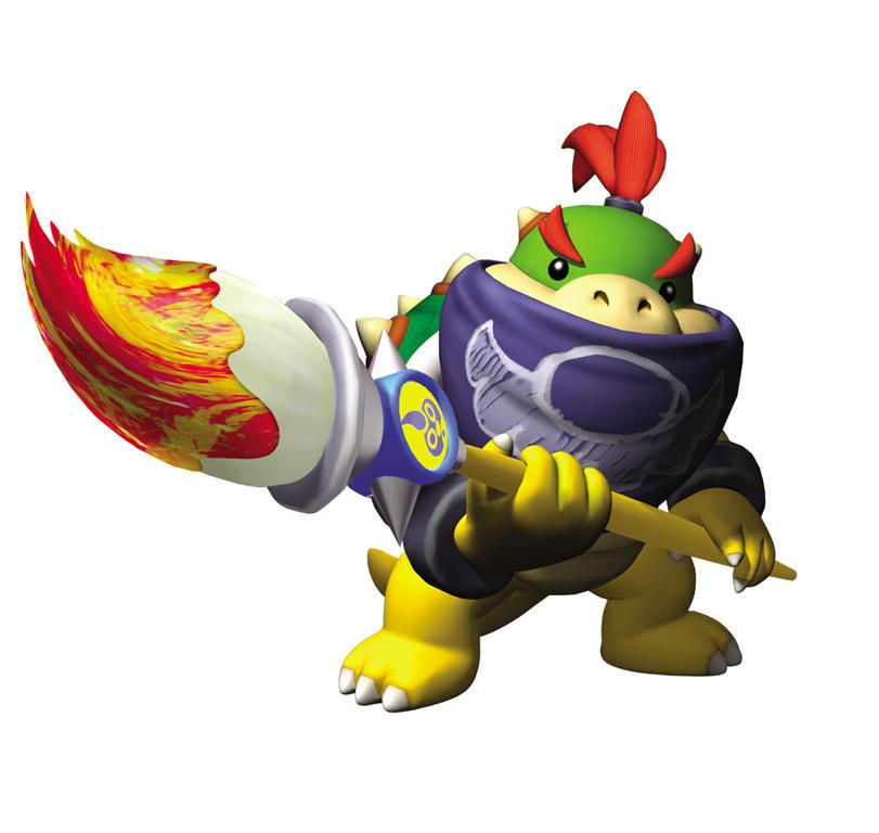 Super Smash Bros. U/3D Bowser_Jr