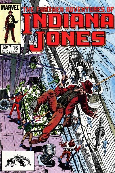 Indiana Jones(Indijana Džons) Stripovi TheSeaButchers16