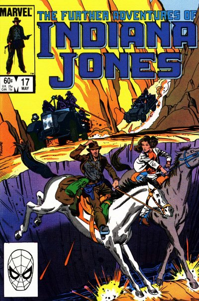 Indiana Jones(Indijana Džons) Stripovi TheSearchForAbner17