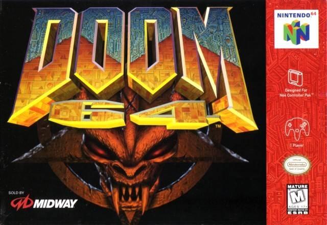 à quoi jouez vous en ce moment...???... Doom_64-box-cover