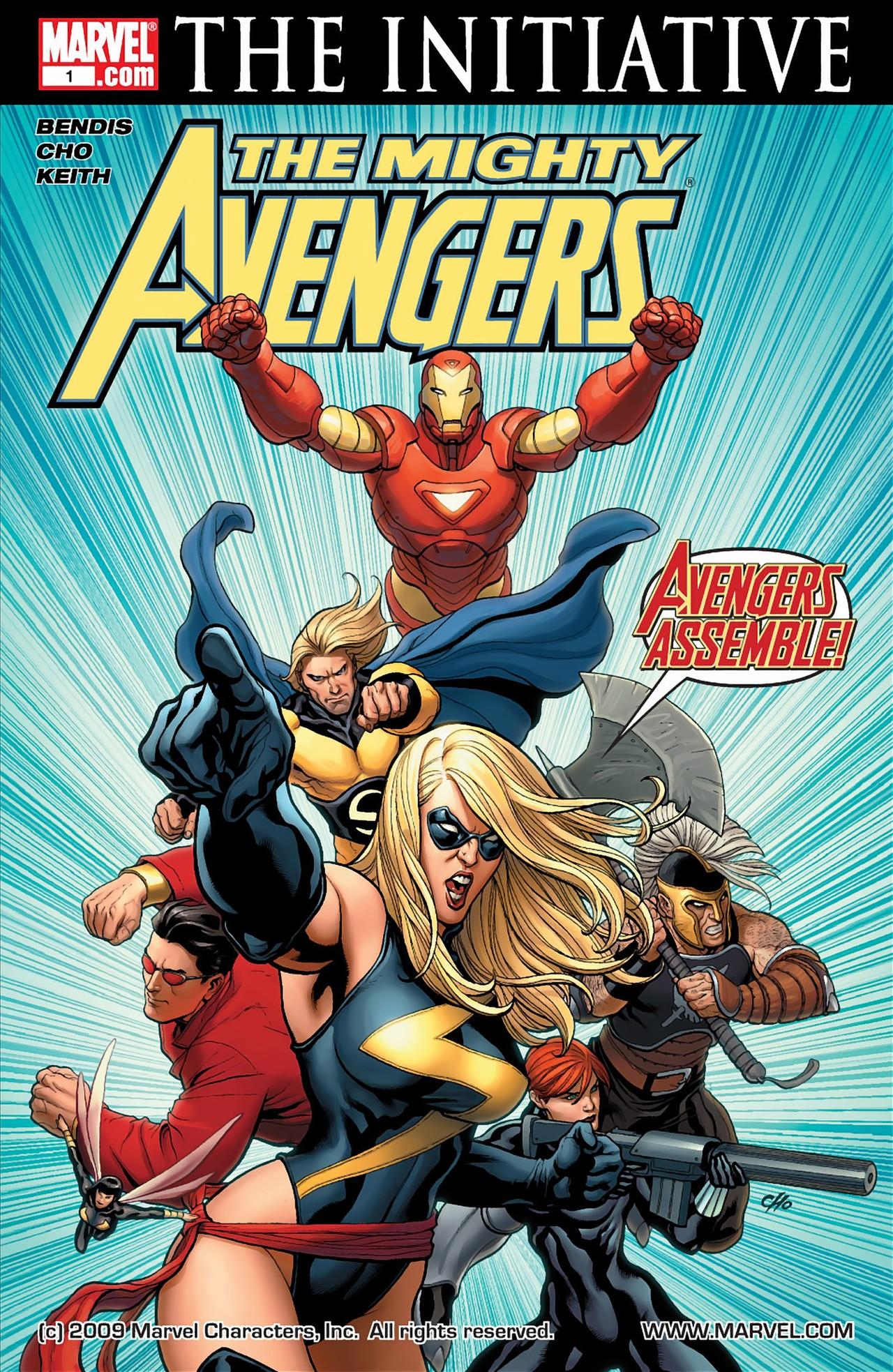 COLECCIÓN DEFINITIVA: VENGADORES [UL] [cbr] Mighty_Avengers_Vol_1_1