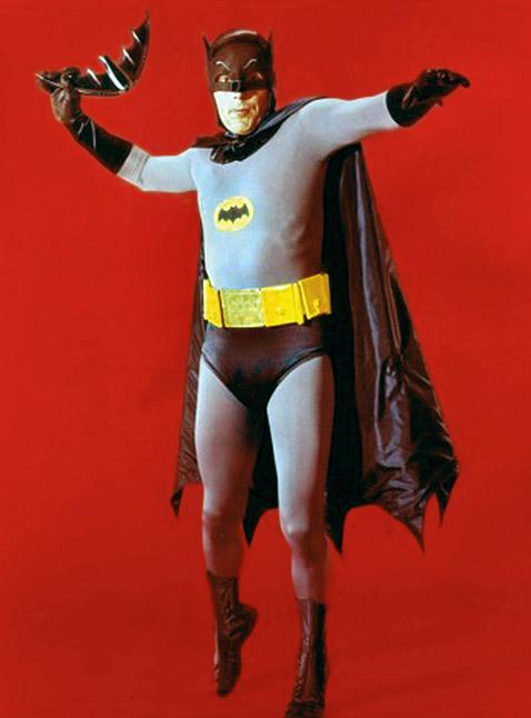 ¿Que actor interpreto mejor a Batman? Batmanadamwest