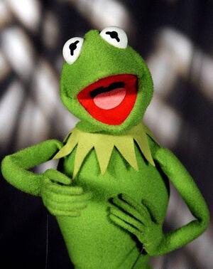 بإنفراد تام تحميل جميع مواسم مسرح العرائس المابيت شو الخمسة كاملة / The Muppet Show Full season 1- 5 300px-Kermit-the-frog