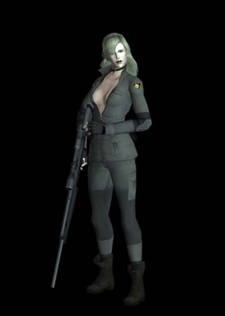 Metal Gear Solid 1 Hottest Twin_Snakes_Sniper_Wolf