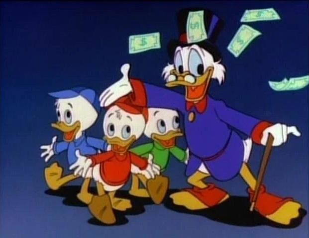 Nos dessins animés d'enfance Ducktalesmoney