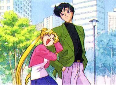 Mamoru's Gentle Eyes Serena-y-darien-enamorados