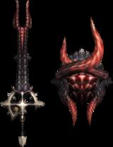 Fatalis | Crimson Fatalis | White Fatalis [MHFU] 160px-Weapon522
