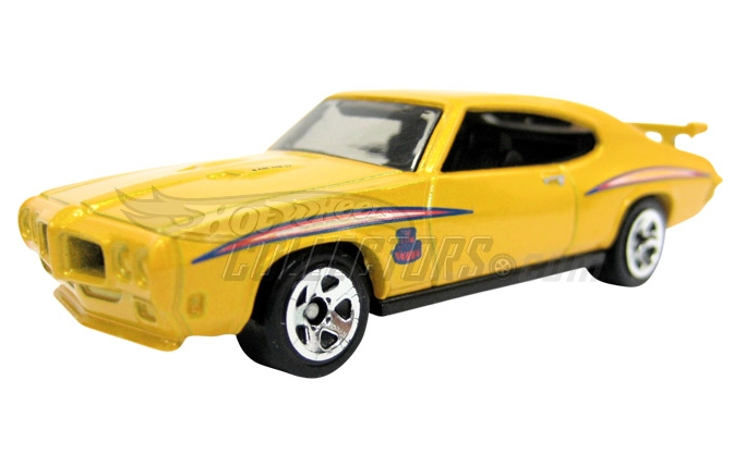 Hot Wheels 2011 70_Pontiac_GTO_Judge_2011_yellow