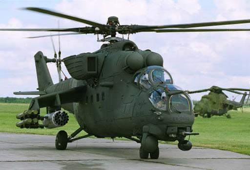 عائلة المروحية الهجومية المتعددة الأدوار الشهيرة Mi24 ـ Mi-35  92F_mi35m1-Russo