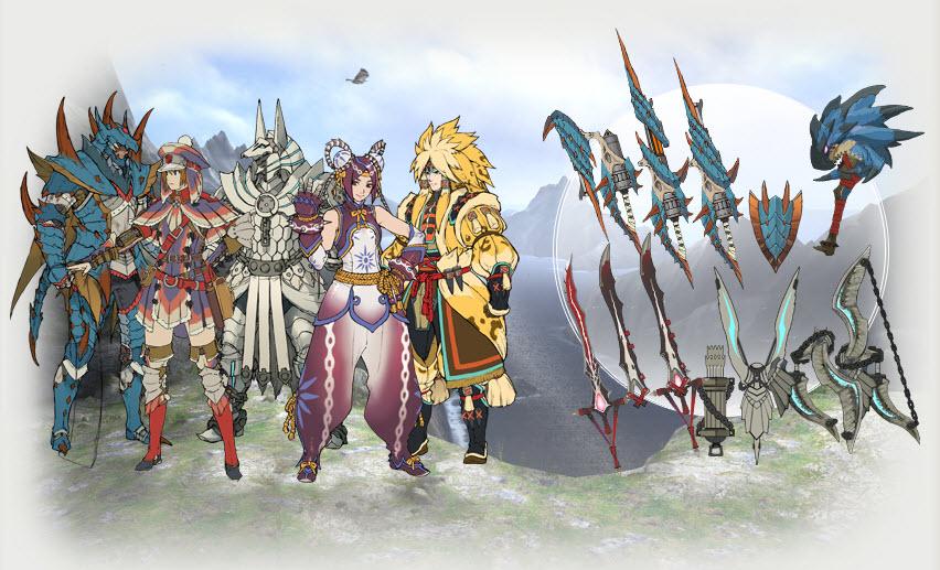 Обсуждение [MH3U] MH_Tri_G_armors_and_weapons