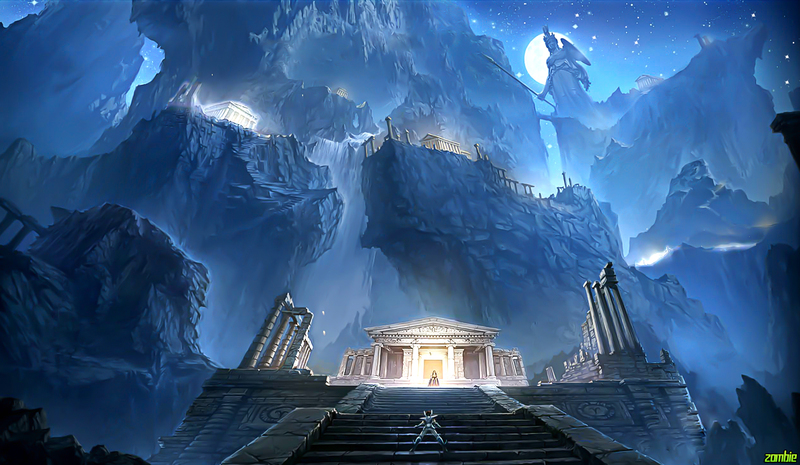 Capitulo Primero: Reunión y Marcha -Dioses Aliados- Santuario