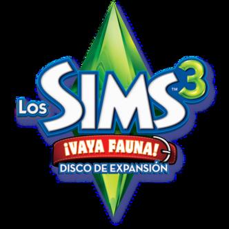 Los Sims™ 3: ¡Vaya Fauna! 332px-Logo_sims_3_valla_fauna