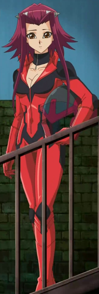 La fille La plus belle de tous le mangas Selon vous #_# Akiza_in_her_runner_suit