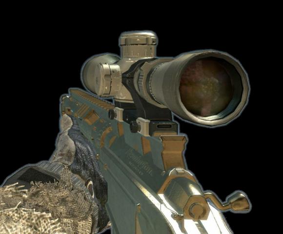 COD MW3 Best weapons 580px-MSR_Gold_MW3