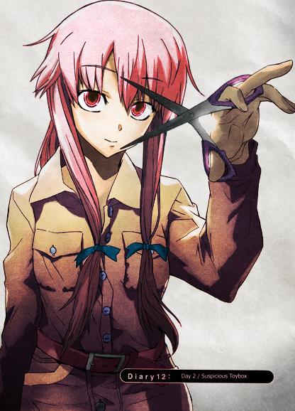 La fille La plus belle de tous le mangas Selon vous #_# Yuno_Gasai_diary_12