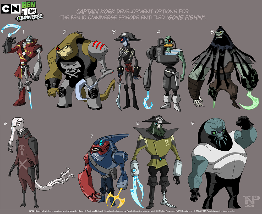 Omniverse Designs Capitain_Kork_and_his_Pals