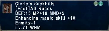 MegaLickser - News~! ClericsDuckbills