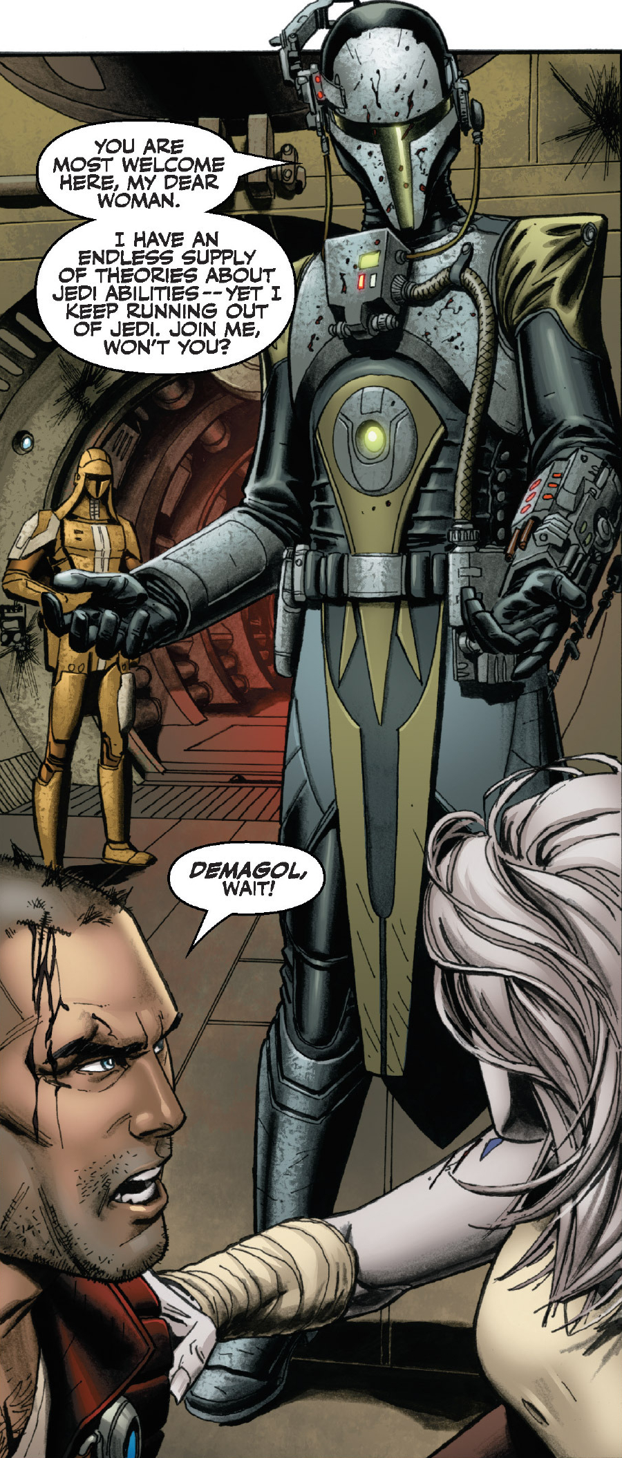 The Mando outfit in KOTOR Demagol