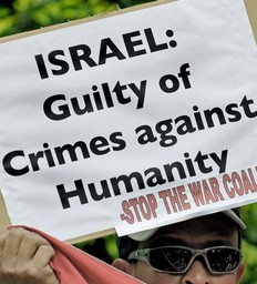 Israel is a crime against humanity 232x256-vi