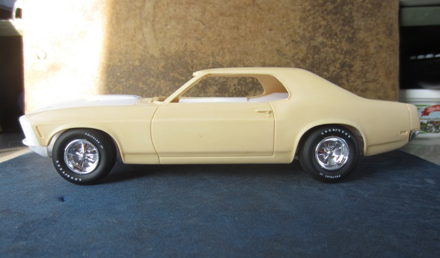 1970 Mustang Grandé SHOP REPORT 063-vi