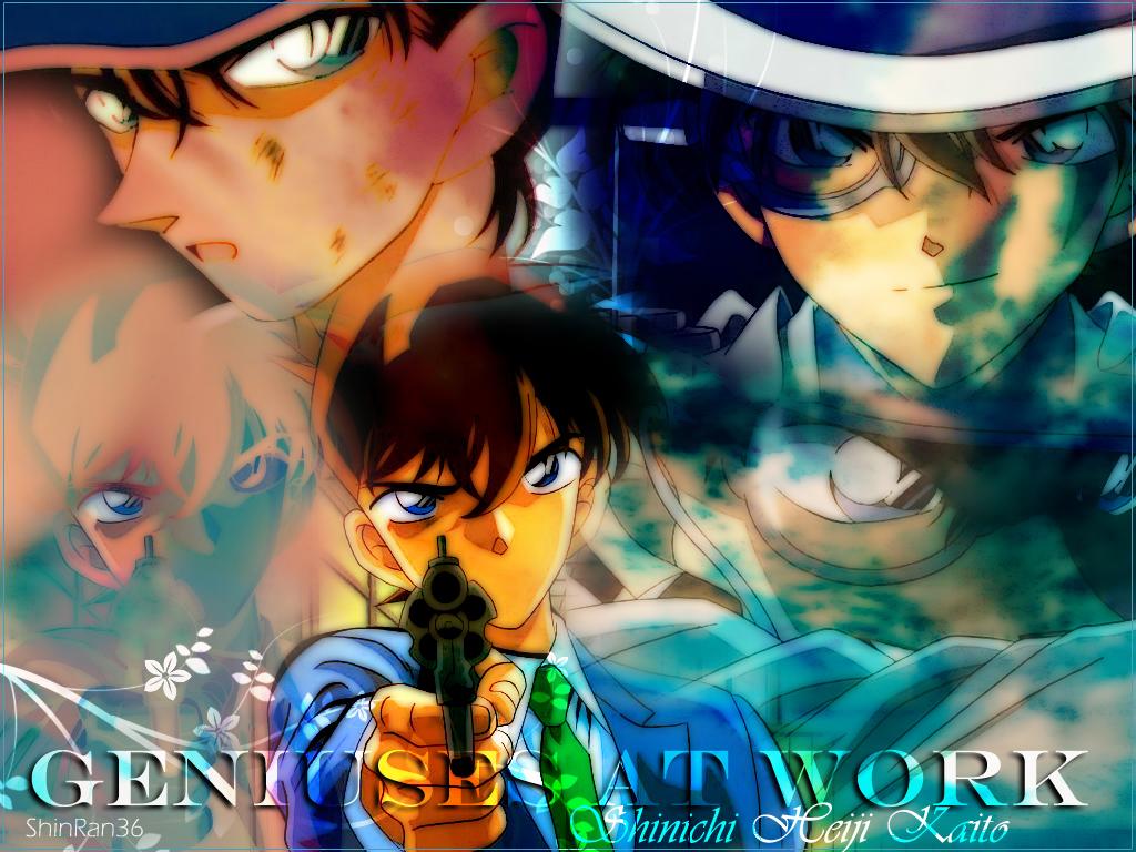 Wallpaper DConan Kaito-heiji-and-shinichi-detective-conan-10337330-1024-768
