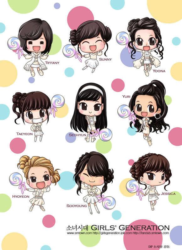 Hình manga của các nhóm nhạc Hàn - Page 2 Kissing-you-chibi-girls-generation-snsd-9290403-580-797