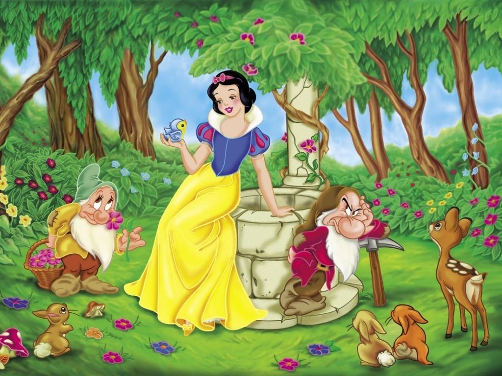أميرات ديزنى رائعة Snow-White-Wallpaper-snow-white-and-the-seven-dwarfs-3582307-1024-768