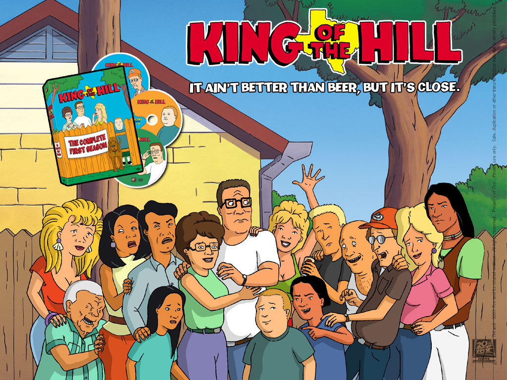 King of the hill King-of-the-Hill-wallpaper-king-of-the-hill-4332560-1024-768