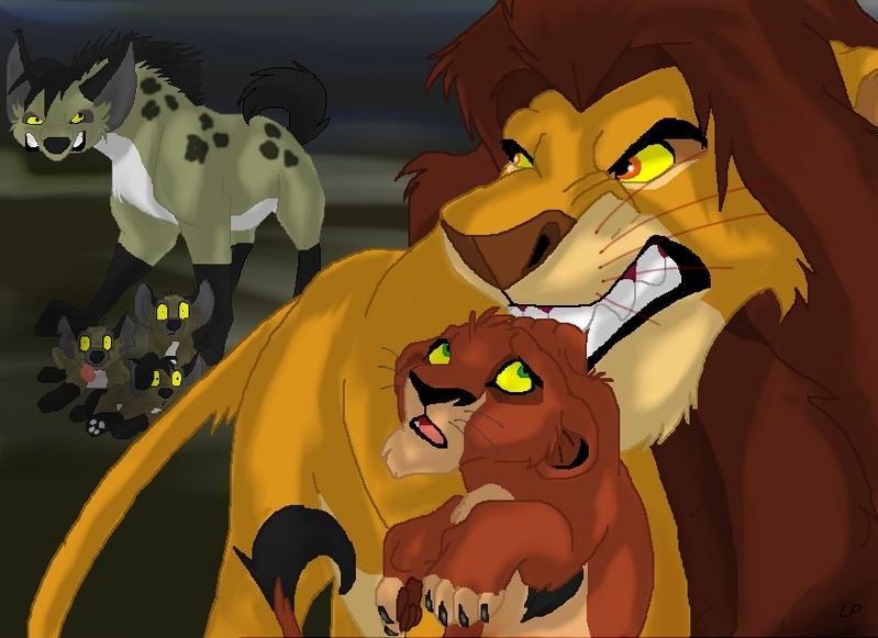 el rey leon 0 Alhadi-Taka-Scar-the-lion-king-5358132-799-581
