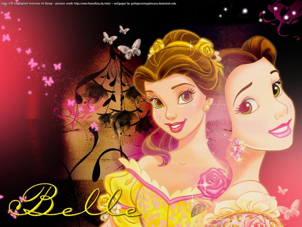 أميرات ديزنى رائعة Princess-Belle-disney-princess-6168633-1024-768