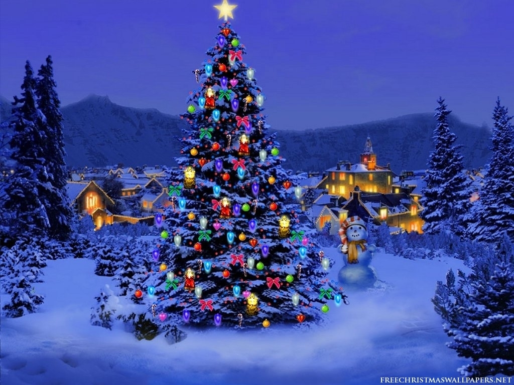 Favourite Pictures Christmas-Tree-Wallpaper-christmas-8142630-1024-768