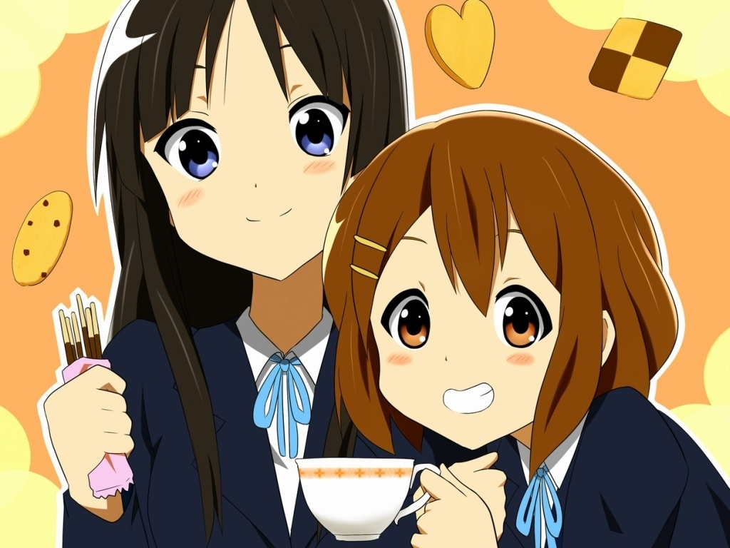 K-On! picture K-On-Yui-Mio-Wallpaper-k-on-8382859-1024-768