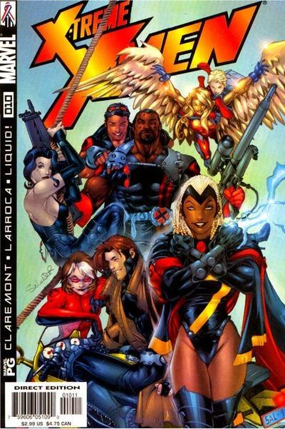 COLECCIÓN DEFINITIVA: MUTANTES Y X-MEN [UL] [cbr] X-Treme_X-Men_Vol_1_10