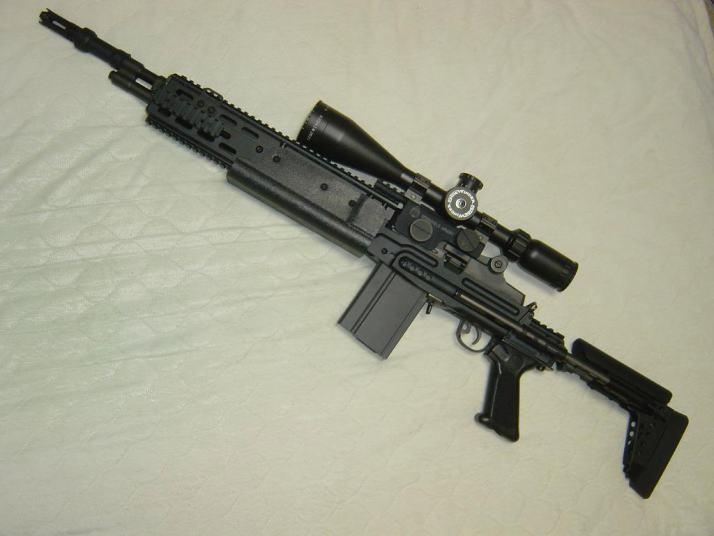 les Snipers M14_EBR
