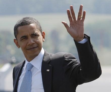 تحية ماسونية - صفحة 11 Obamatrek