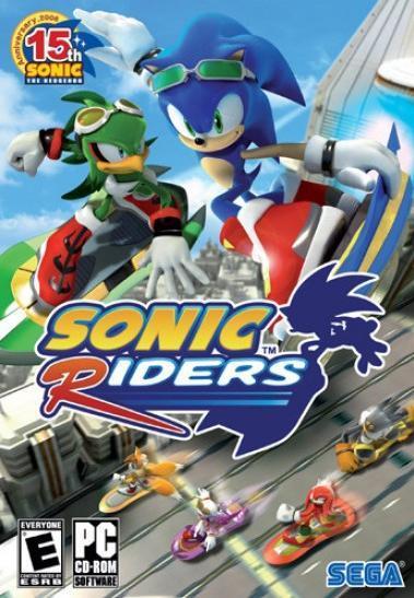 משחקי Sonic (סוניק) להורדה לינקים מהירים Sonic_Riders_(PC)