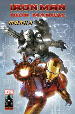 Manuel Officiel de l'Univers Marvel Thématiques 2010-2011 300px-Iron_Manual_Mark_3_Vol_1_1