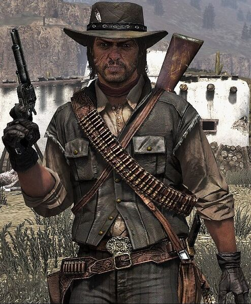 Shadow's Of The Past, The Blood Queen and The Desperado (Sixty Four Years Ago) 494px-John_Marston1