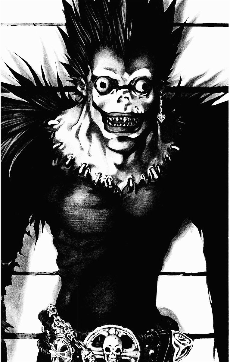 AYUDA:figura de manga o comics básica para un curso de 5 horas (epoxi) Ryuk