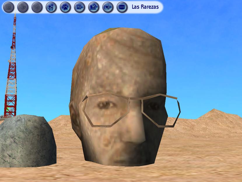 Huevos de pascua de los sims 2 830px-Will_tallado_en_piedra