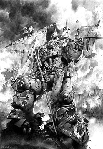 [W40K] Collection d'images : Space Marines - Page 2 Marine